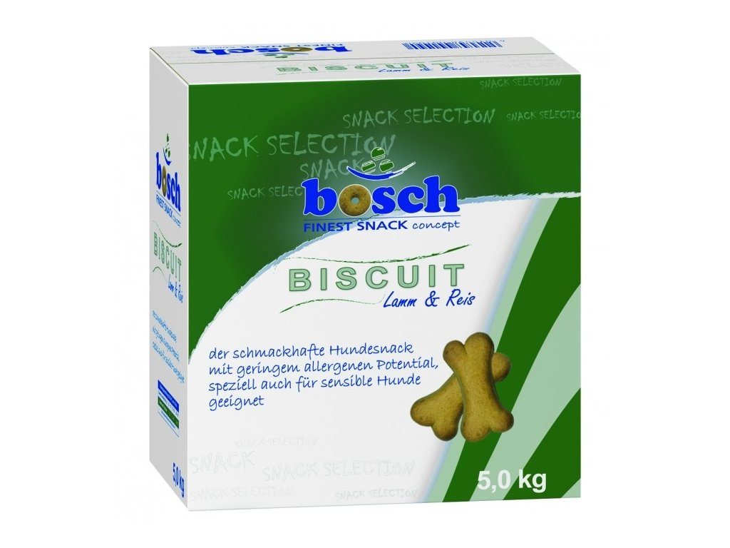 4338 bosch biscuit lamb rice 5kg