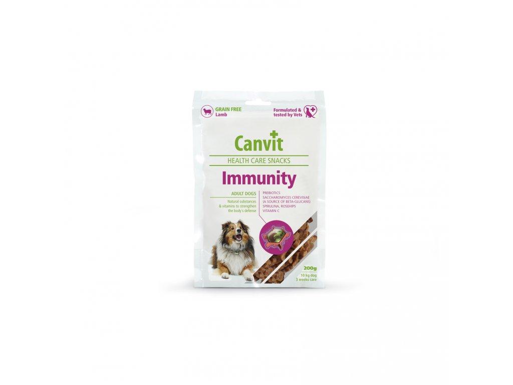 4443 canvit snack immunity pro psy 200g