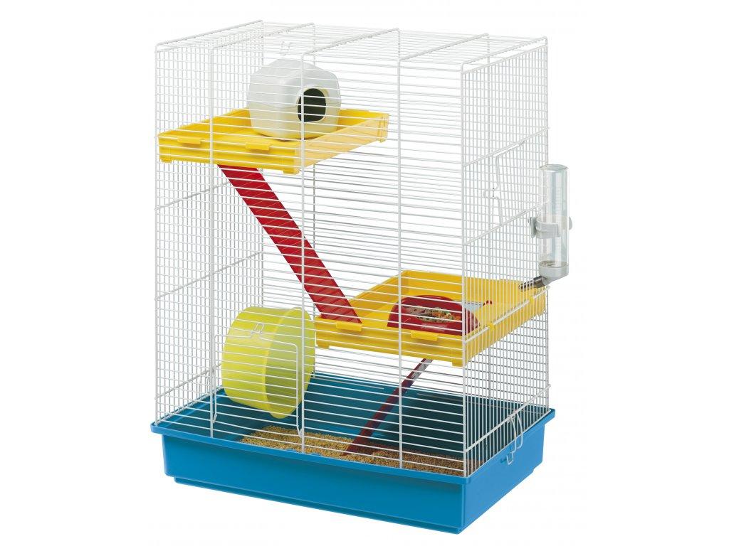 4521 ferplast klec pro hlodavce hamster tris bila