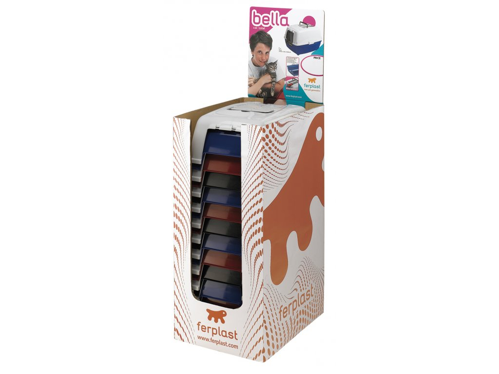 4581 ferplast wc bella pal box