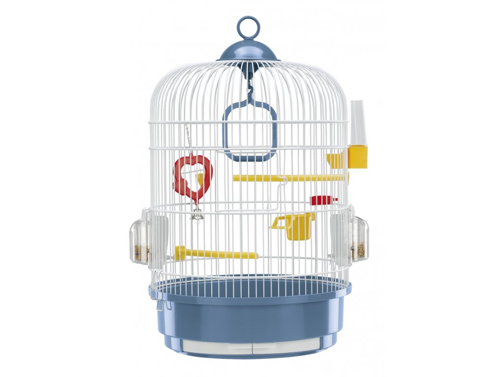 4605 ferplast mala klec pro ptaky s vybavou regina bila