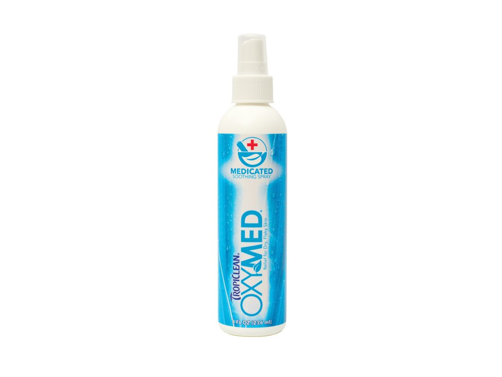 5208 tropiclean oxy med medicated spray 220ml