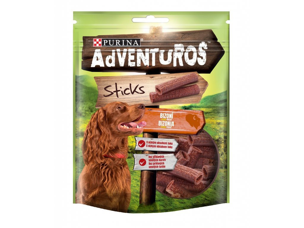 5313 adventuros snack sticks bizon 120g