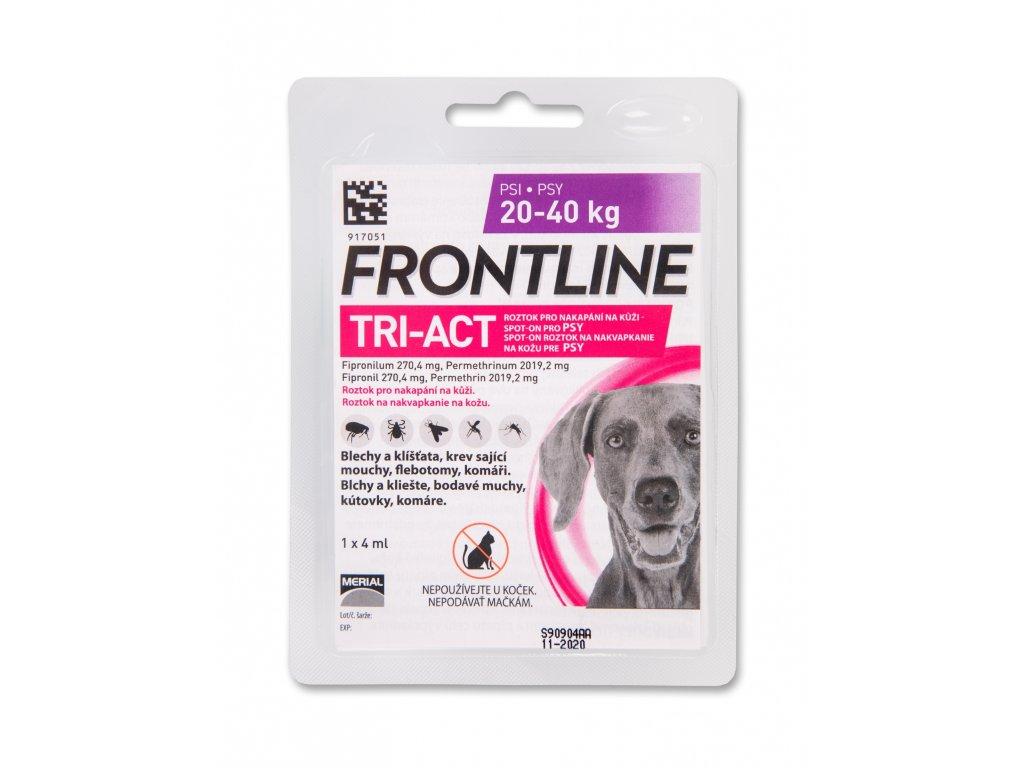 5325 frontline antiparazitika tri act spot on dog 4ml l