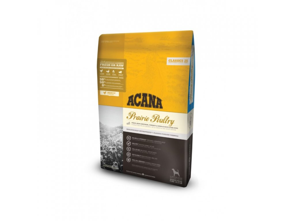 5715 acana classics 25 prairie poultry 6kg