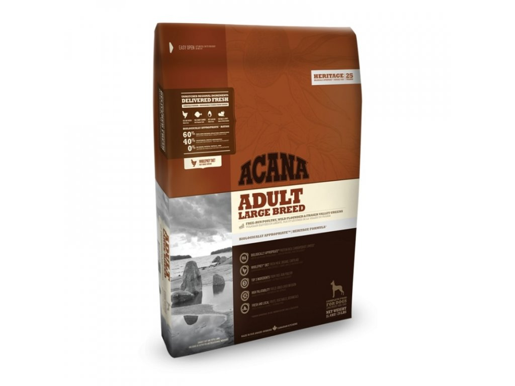 5736 acana heritage class adult large breed 17kg