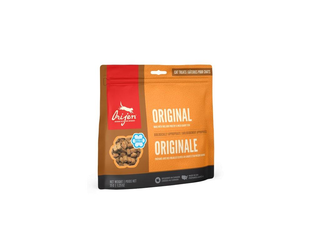 6102 orijen freeze cat snack original 35g
