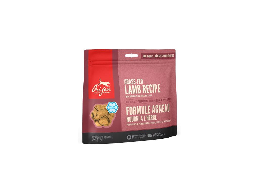 6141 orijen freeze dog snack alberta lamb 42 5g