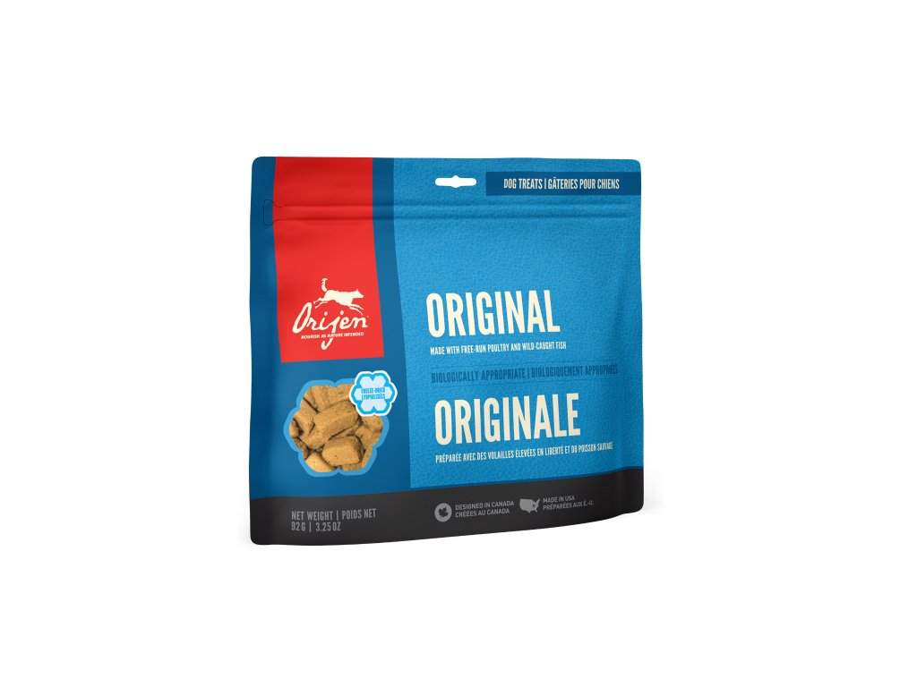 6156 orijen freeze dog snack original 92g