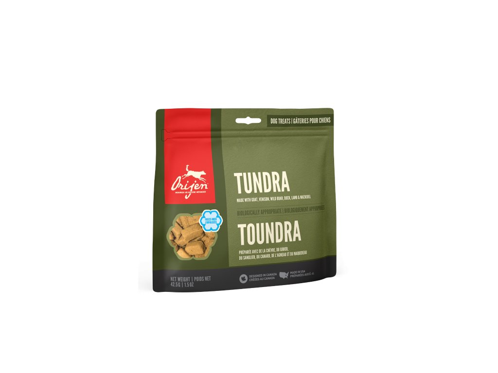 6171 orijen freeze dog snack tundra 42 5g