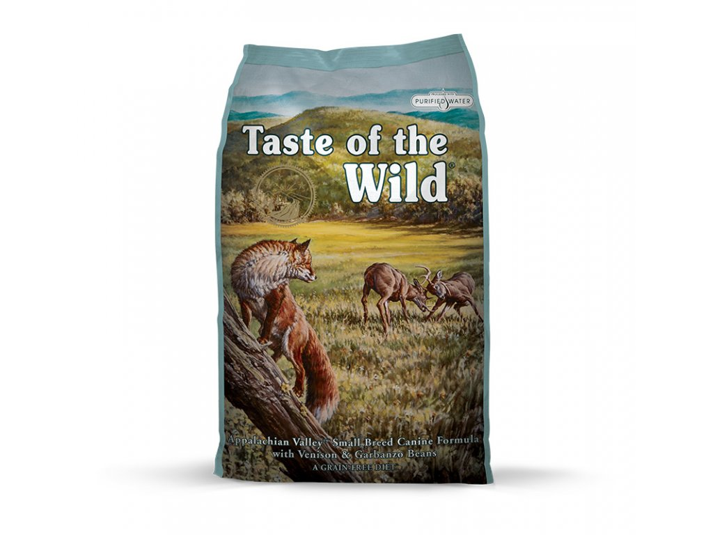 6183 taste of the wild appalachian valley small breed 2kg
