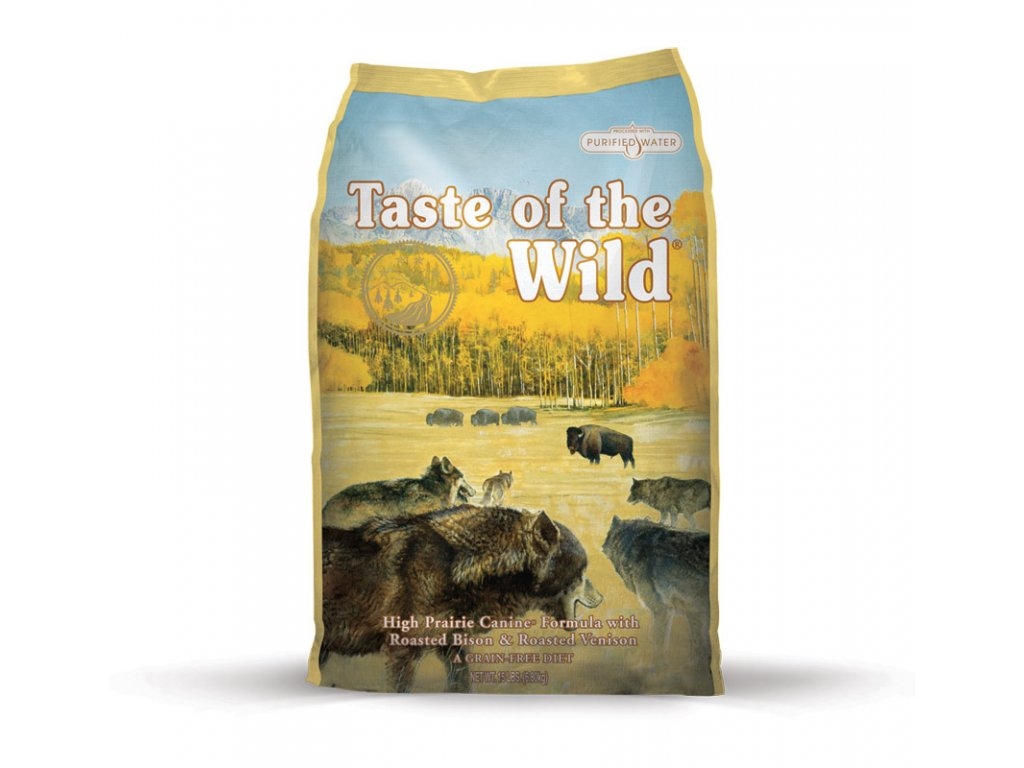 6204 taste of the wild high prairie canine 2kg