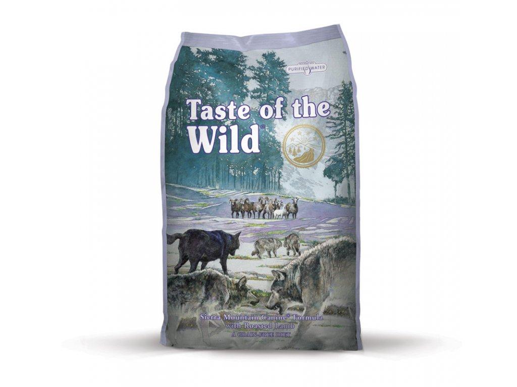 6252 taste of the wild sierra mtn canine 2kg