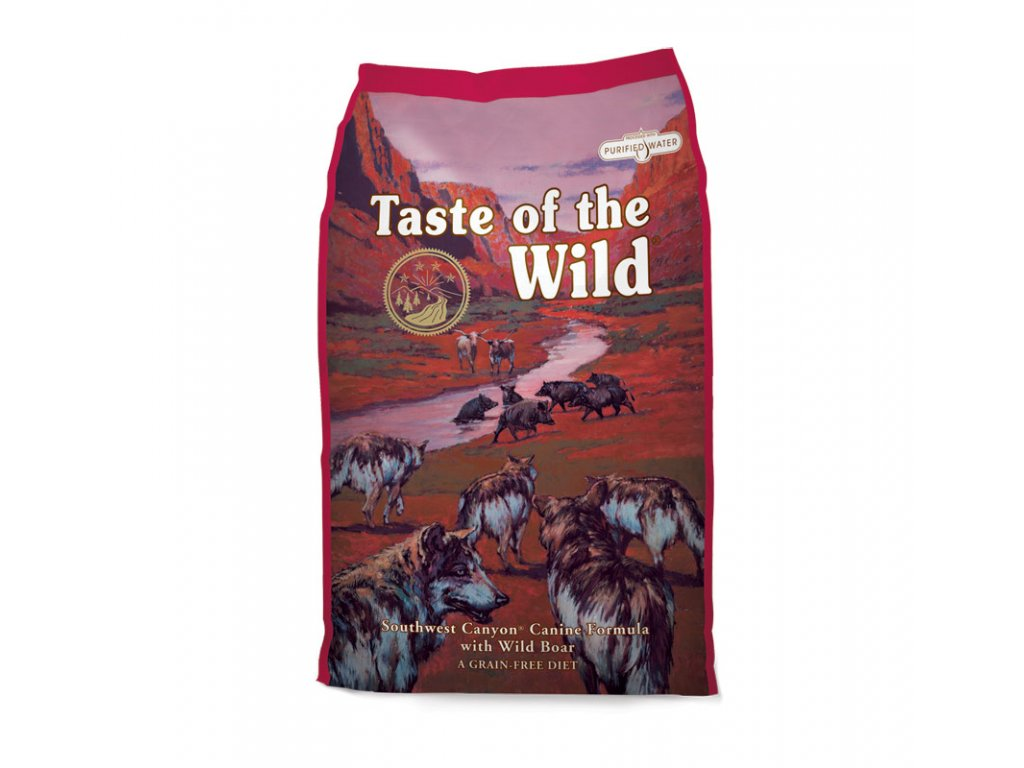 6258 taste of the wild southwest canyon canine 2kg