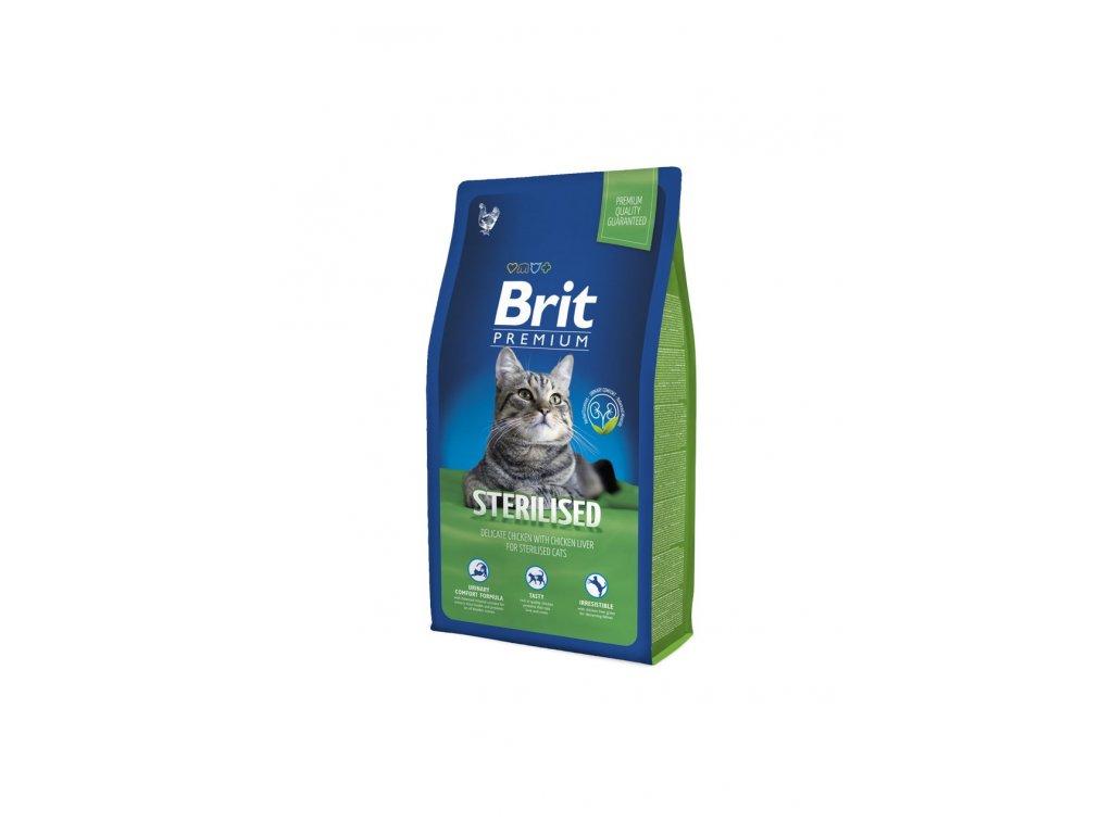 6555 brit premium cat sterilised 8kg