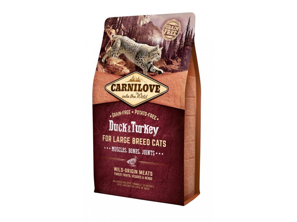 6600 carnilove cat grain free duck turkey lb cat muscles bones joints 2kg