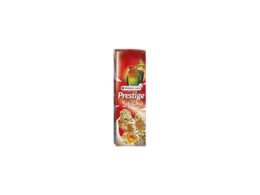 7575 versele laga prestige sticks tycinky pro velke papousky med orech 2x70 g