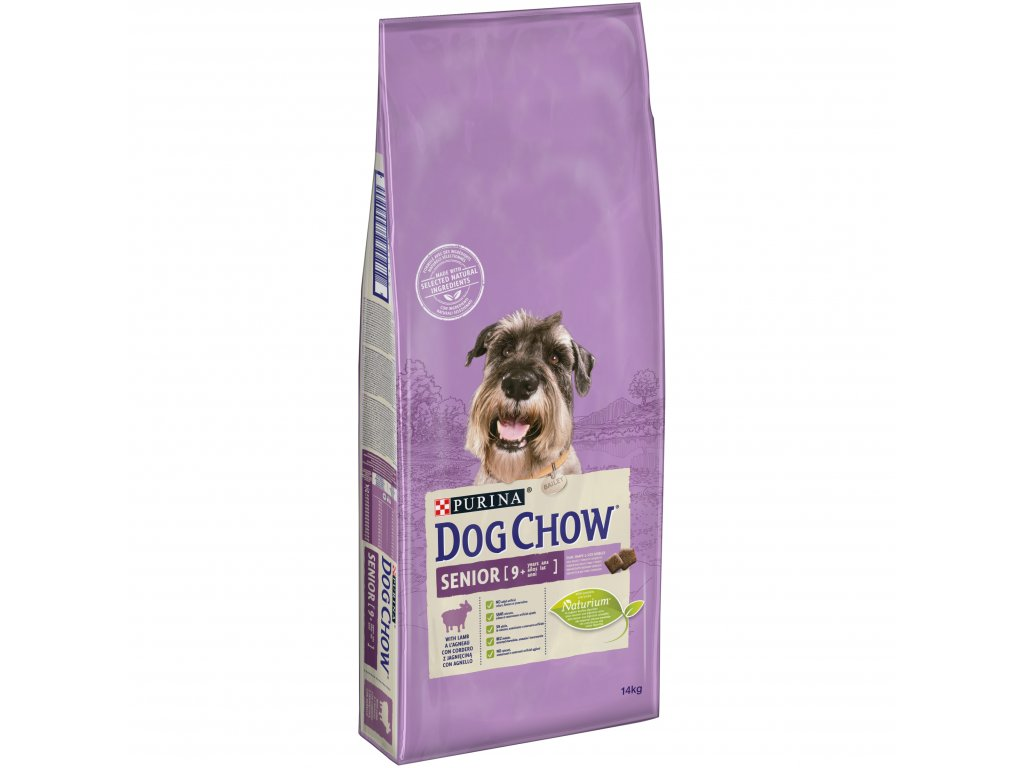 8232 purina dog chow senior lamb rice 14 kg