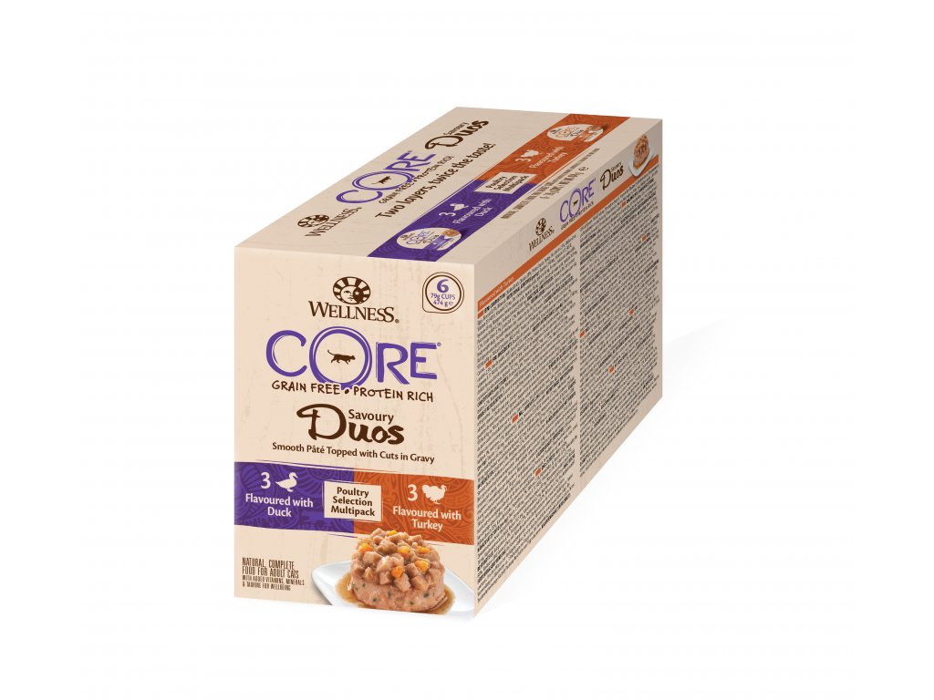Wellness CORE Savoury Duos Poultry Selection Multipack