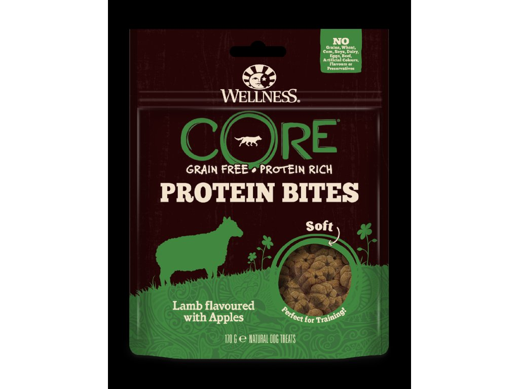 Wellness CORE Protein Bites Lamb Flavoured with Apples 170g
