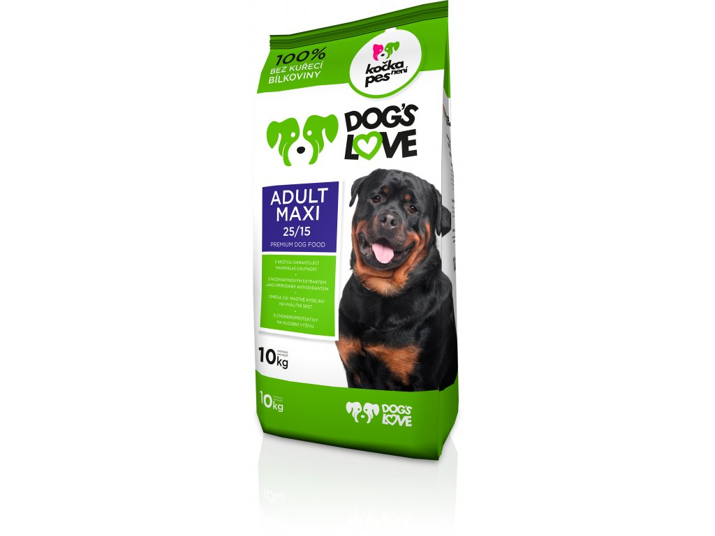 8988 dogs love adult maxi 10kg