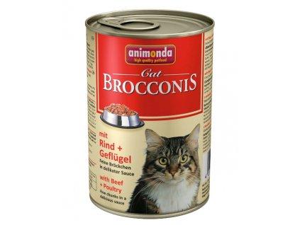 1053 animonda brocconis konzerva pro kocky hovezi drubez 400g