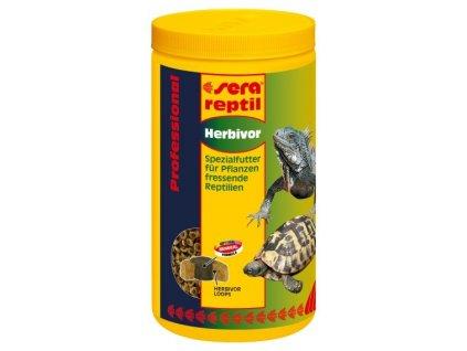 1359 sera doplnkove krmivo pro bylozrave plazy reptil professional herbivor 1000ml