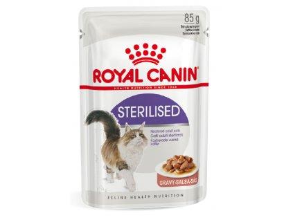 2976 royal canin sterilised gravy ve stave 12x85g