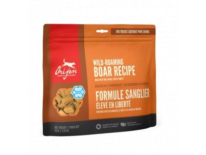 6174 orijen freeze dog snack wild boar 92g