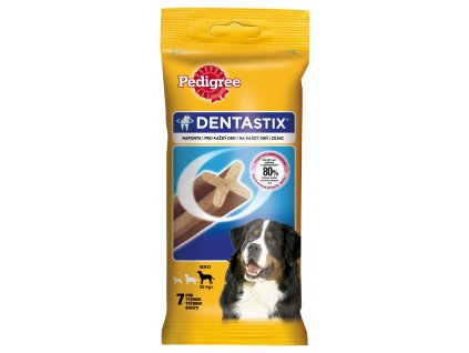8328 pedigree pochoutky denta stix large 7pack 270g