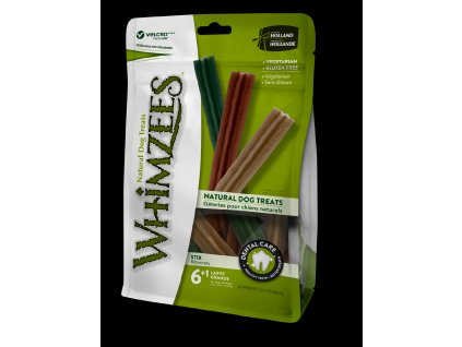 10941 whimzees dental stix l 60g 6 1ks