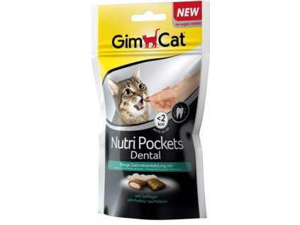 12204 gimcat nutri pockets dental 60g