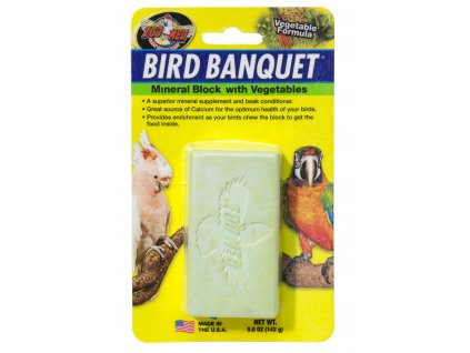 13452 bird banquet mineralni blok se zeleninou l