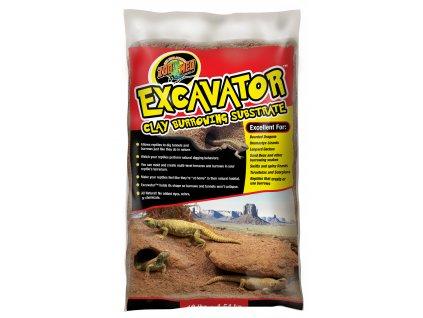 13698 excavator jilovy substrat