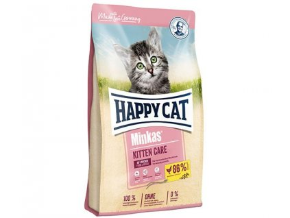 16206 happy cat minkas kitten care 10kg