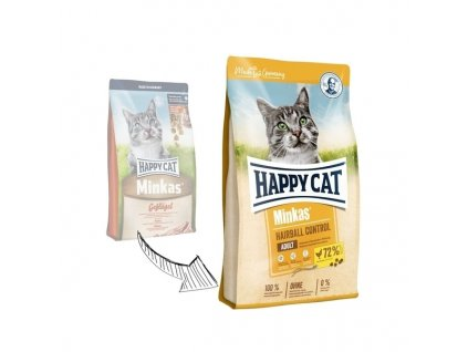 16215 happy cat minkas hairball control 10kg