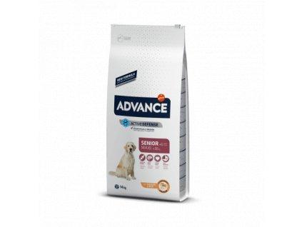 16557 advance dog maxi senior 14kg