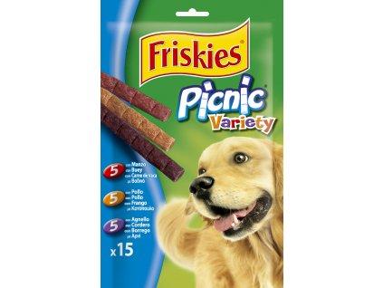 16788 friskies snack dog picnic variety 126g
