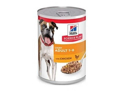 16857 konzerva hill s canine sp adult light chicken 370g