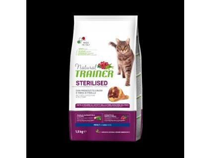 17613 trainer natural cat sterilised susena sunka 1 5kg