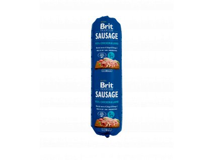 18780 brit sausage chicken lamb 800g