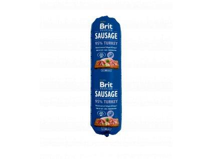 18786 brit sausage turkey 800g