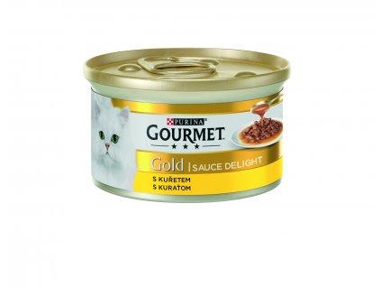 18906 konzerva gourmet gold sauce delights kure v omacce 85g