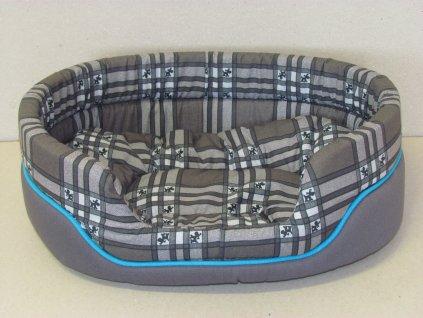 Pelech CDOG 28 šedý + modrý kedr 55cm