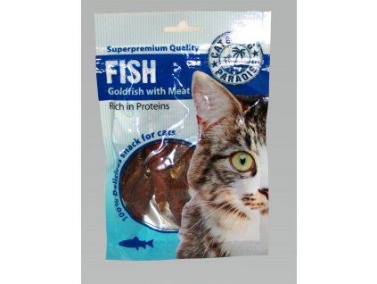PARADISE Cat rybky s mäsom 45g (expirácia: 25.10.2021)