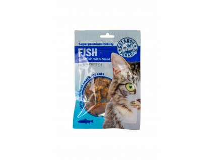 PARADISE Cat rybky s mäsom 45 g