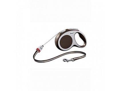 Flexi vario cord M 5m-20kg hnedá