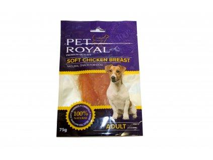 Pet Royal Dog Soft kuracie prsia 75g