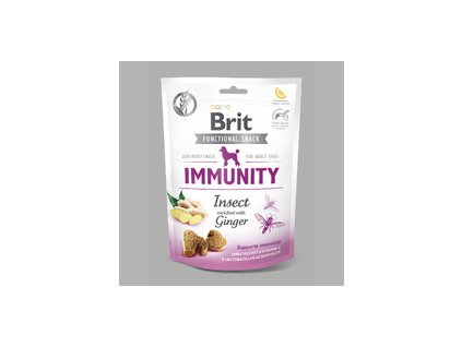 20814 brit care dog snack immunity insect 150 g