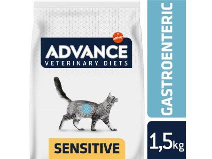 21048 advance veterinary diets cat gastro sensitive 1 5kg